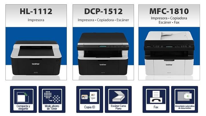 Nuevas impresoras y multifuncionales láser Brother de bajo costo - impresoras-laser-baratas