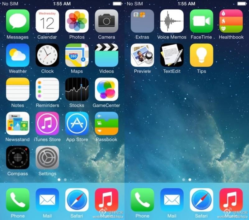 Entérate de las nuevas aplicaciones que iOS 8 tendrá cuando sea lanzado - ios-8-apps-800x709