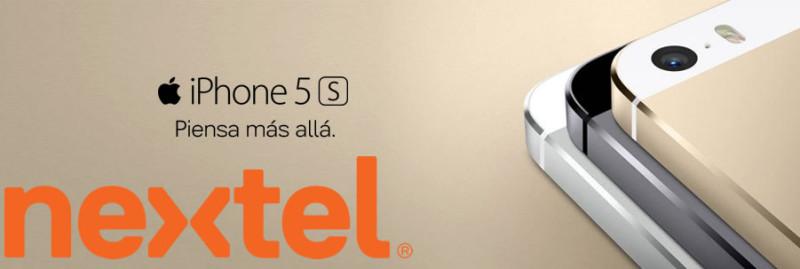 iPhone 5S y iPhone 5C con Nextel en México ya es una realidad - iphone-5s-nextel-800x269