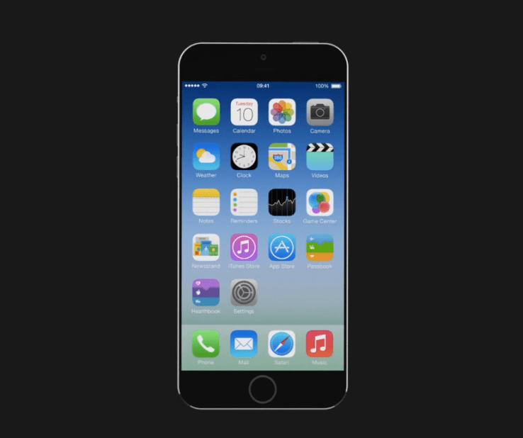 Conoce el nuevo iPhone 6 o iPhone Air (en concepto) - iphone-6