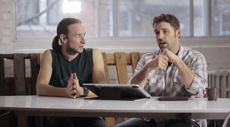 Descarga el trabajo de Eric Paré y Mike Campau en la tercera temporada de Ten Collection - mike-eric-fotolia