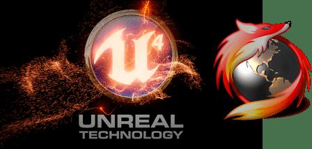 Mozilla muestra el Unreal Engine 4 corriendo nativamente en Firefox