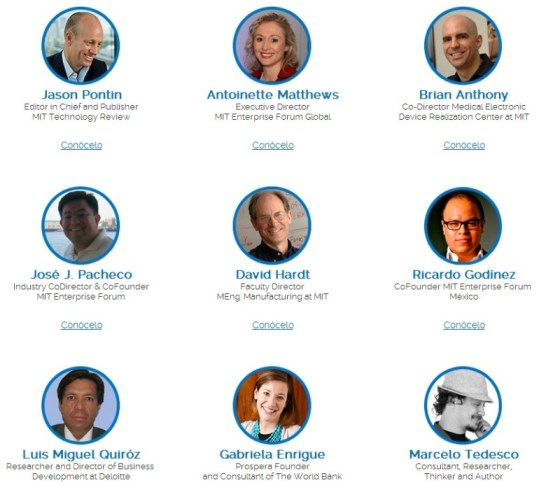 MIT Enterprise Forum México 2014, Tecnología y negocios con impacto social - ponentesMIT-800x700