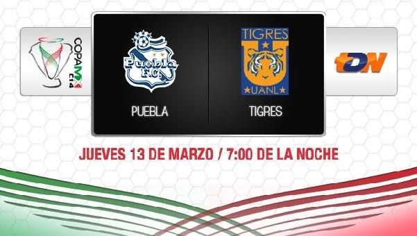 Puebla vs Tigres en vivo, Copa MX 2014 - puebla-vs-tigres-en-vivo-copa-mx