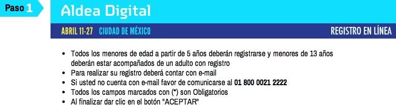 Aldea Digital 2014 abre su registro online y por teléfono - registrarse-aldea-digital
