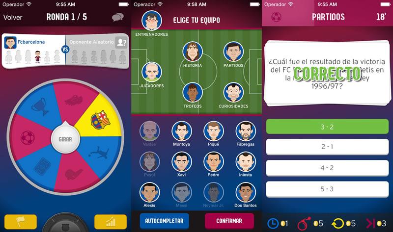 FC Barcelona Trivia Fans, el juego para los aficionados al Barcelona FC - trivias-barcelona-fans
