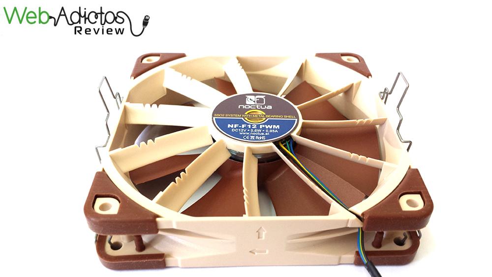 Disipador de aire, Noctua NH-U12S [Reseña] - 123