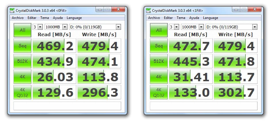Disco SSD ADATA XPG SX900 de 128GB [Reseña] - 162