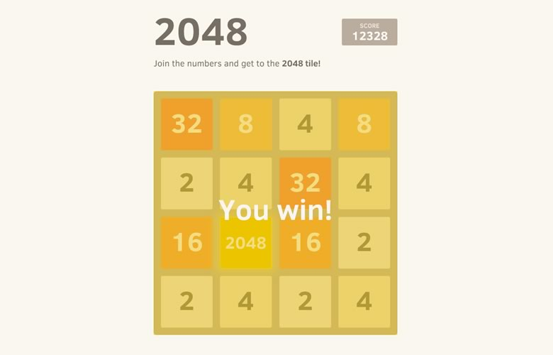 2048, el nuevo y adictivo juego que tienes que probar - 2048-juego