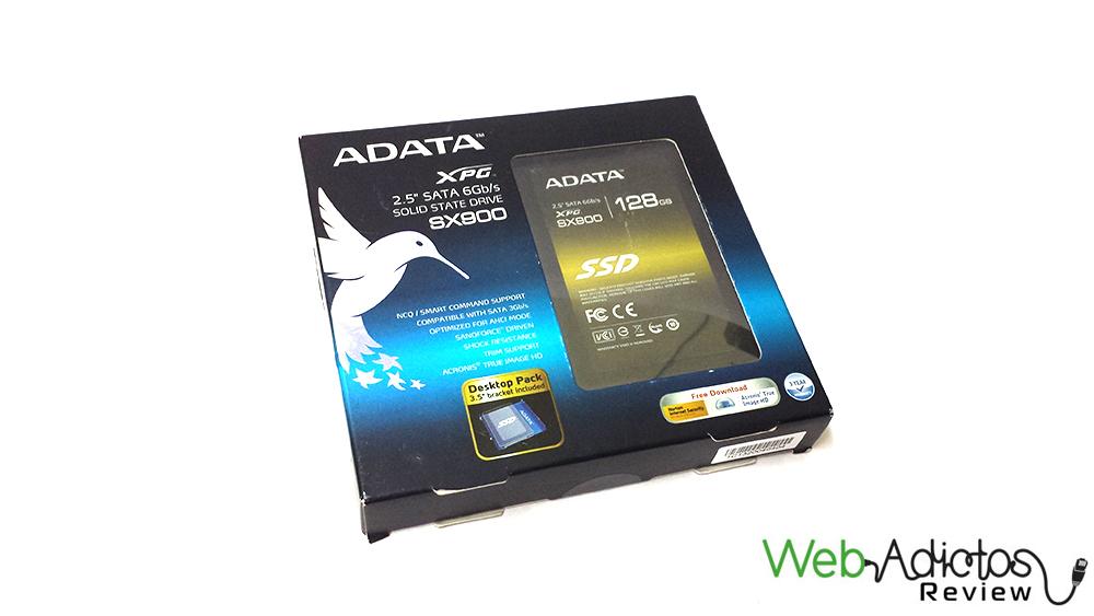 Disco SSD ADATA XPG SX900 de 128GB [Reseña] - 32