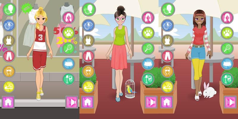 5 Juegos de vestir gratis para niñas en Android - Juegos-de-Vestir-Ninas