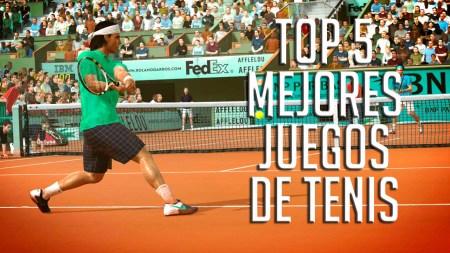 Top 5 – Mejores videojuegos de tenis de la historia