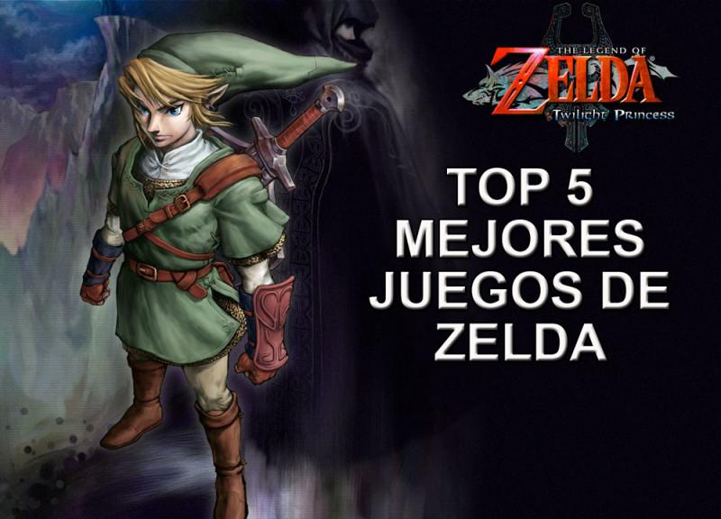 Top 5 Mejores juegos de Zelda de la historia - Mejores-juegos-de-zelda-800x576