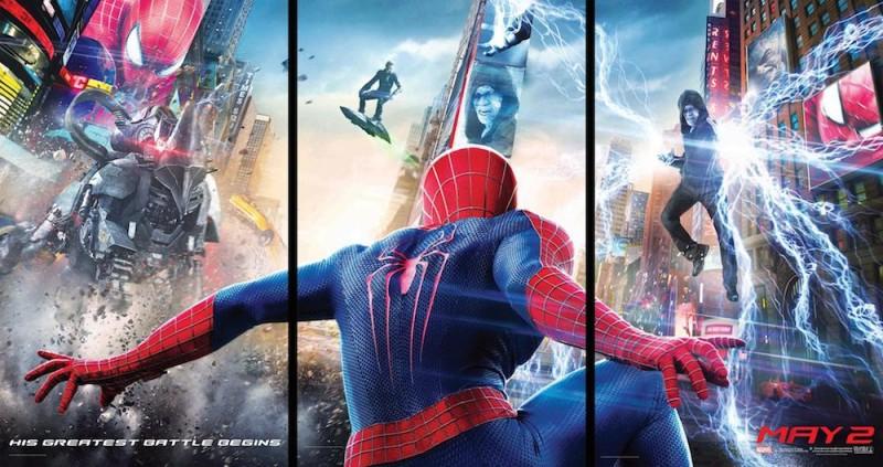 Estreno de la semana en el cine: El Sorprendente Hombre Araña 2: La amenaza de Electro - Pelicula-Spiderman-2-800x423