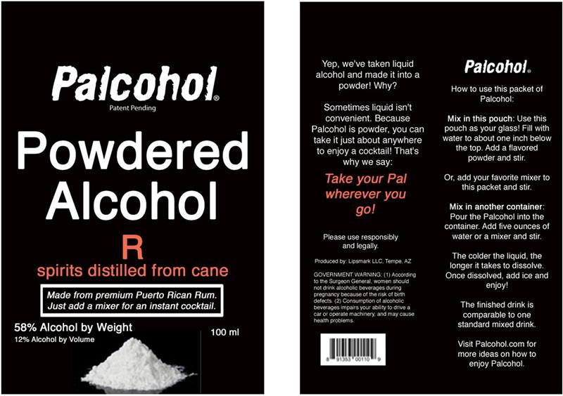 Palcohol, el alcohol hecho polvo para que prepares tus bebidas embriagantes - alcohol-en-polvo