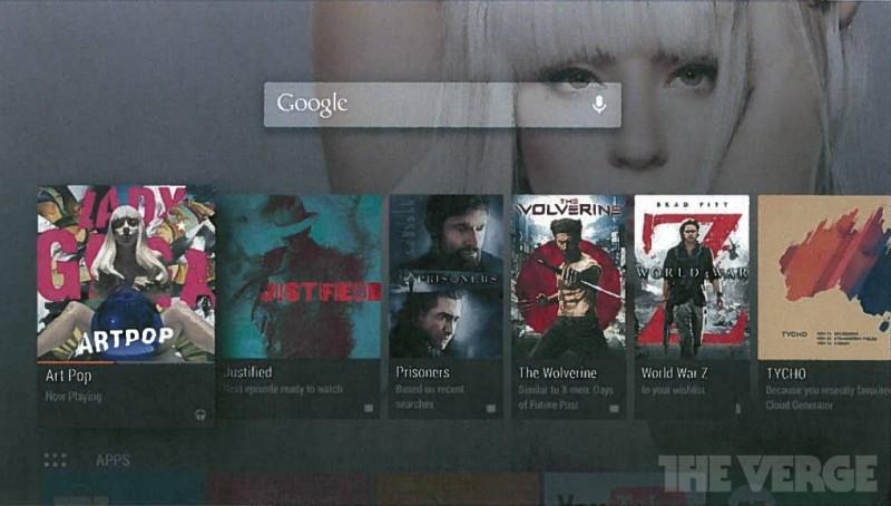 Se filtra Android TV, la apuesta de Google para la sala de estar - android-tv-2-800x454