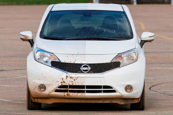 Nissan inventa auto que se limpia solo - auto-limpia-solo