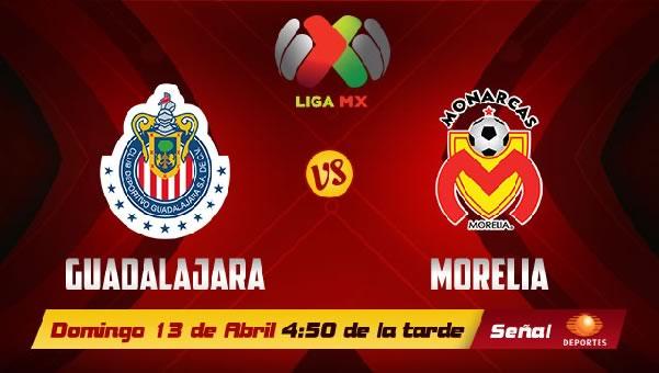Chivas vs Morelia en vivo, Jornada 15 Clausura 2014 - chivas-vs-morelia-en-vivo-televisa-2014