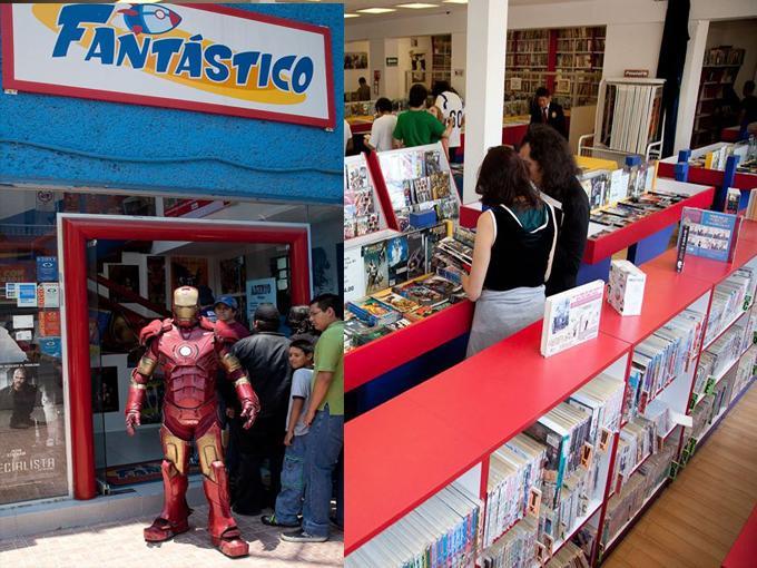 5 lugares Geek que debes visitar en México D.F - fantastico-comic