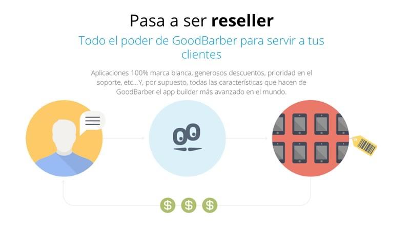 GoodBarber lanza su plan de resellers para que las agencias se beneficien de su plataforma - goodbarber-resellers