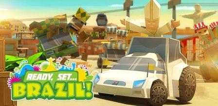 Ready, Set… Brazil, un juego de carreras con el Papa como protagonista