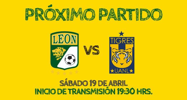León vs Tigres en vivo, Jornada 16 Clausura 2014 - leon-vs-tigres-en-vivo-unotv
