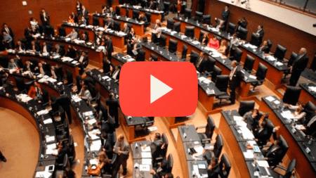 Presentación EN VIVO del dictamen en el Senado sobre #LeyTelecom #EPNvsInternet