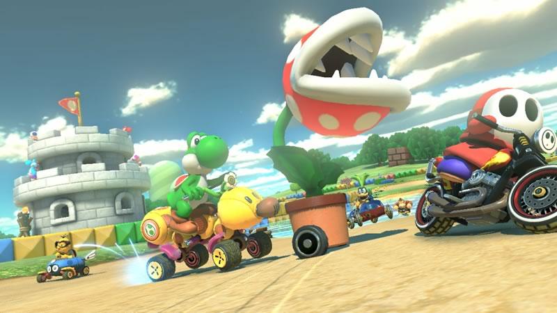 Mario Kart 8: Con nuevos objetos, personajes y pistas - mario-kart-8-wii-u