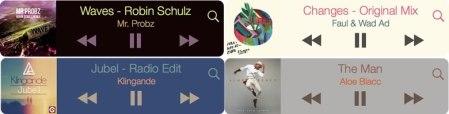 MiniPlayer para Mac, un reproductor de música flotante para iTunes, Spotify o Rdio