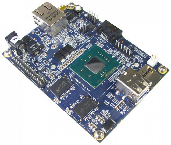 Intel lanza minicomputadora más pequeña que la Raspberry Pi - minnowboard