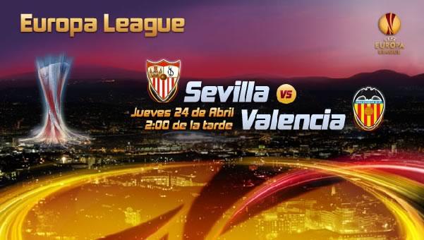 Sevilla vs Valencia en vivo, Semifinal Europa League 2014 (ida) - sevilla-vs-valencia-en-vivo-televisa