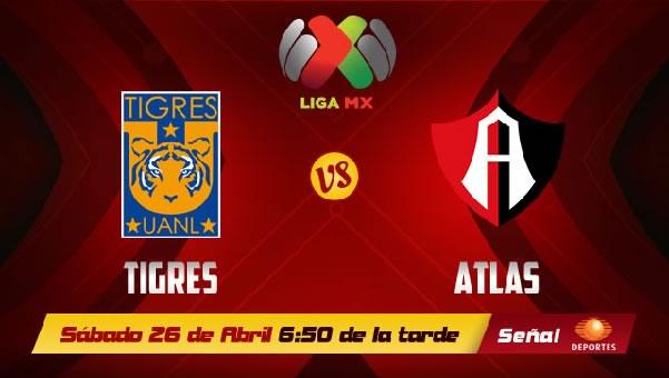 Tigres vs Atlas en vivo, Jornada 17 Clausura 2014 - tigres-vs-atlas-en-vivo-televisa