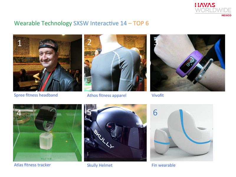 La tecnología vestible o Wearable Technology será una tendencia de alto impacto - wearable-tech-dispositivos