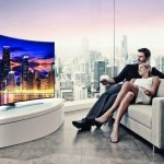 Pantallas Samsung UHD curvas llegan a México - Curved-UHD-TV_Curved-Screen_Night