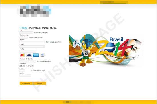 Los virus y amenazas antes del mundial Brasil 2014 - FIFA-phishing