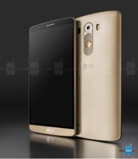 Presentación del LG G3 en vivo desde Londres vía Streaming - LG-G3-dorado