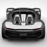 Rezvani BEAST, el auto deportivo con piezas impresas en 3D - Rezvani-Beast-Studio-Rear