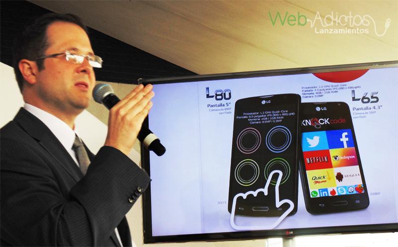 LG presentó sus nuevos smartphones serie L III en México ¡Conócelos! - Serie-L80-L65-LG