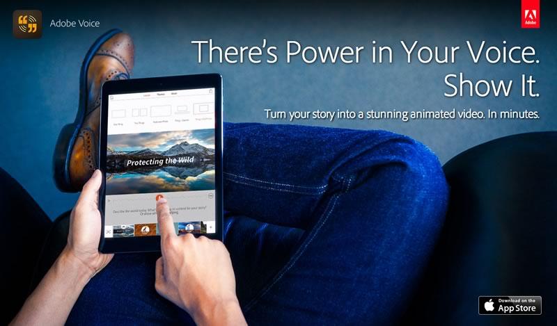 Crea tu historia en video con la nueva app para iPad Adobe Voice - adobe-voice-crear-videos-ipad