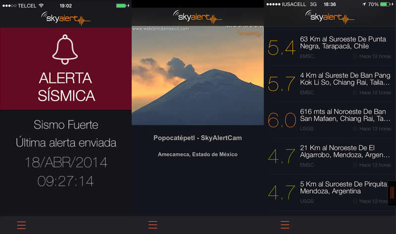 Apps con alerta sísmica para tu celular ¡Prepárate para el temblor! - alerta-sismica-skyalert