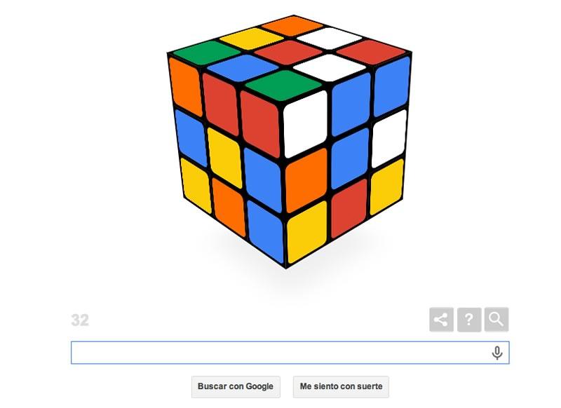 Arma el Cubo de Rubik con el Doodle de Google - cubo-de-rubik-doodle