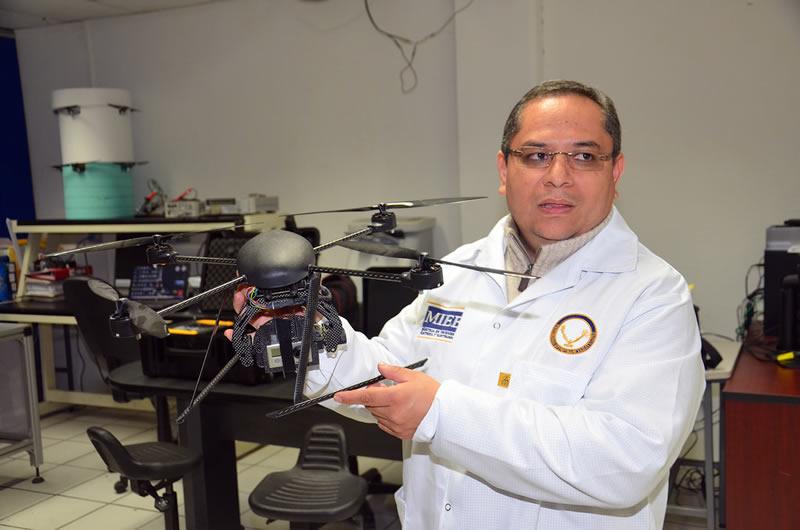 Diseñan un nuevo sistema de vuelo automatizado para drones en México - drones-tamaulipas-Gerardo-Romero