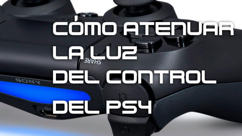 Cómo bajar la intensidad del LED del control de PS4 - dualshock4-800x450