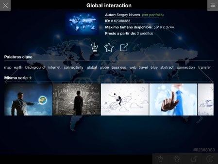 Fotolia lanza su nueva app para iPad