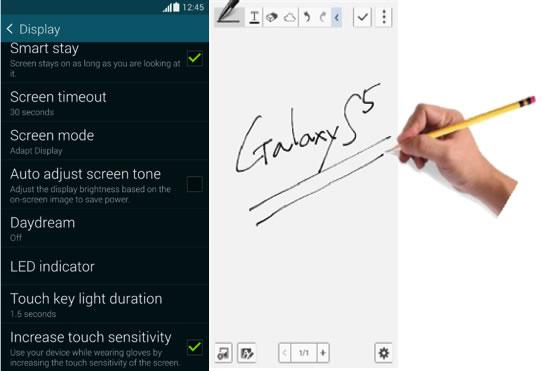 8 funciones ocultas del Samsung Galaxy S5 que te gustarán - funciones-ocultas-galaxy-s5-escribir-lapiz