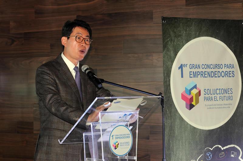 """""""Soluciones para el Futuro"""", 1er. Gran Concurso para Emprendedores - hector-jung-samsung-mexico"""