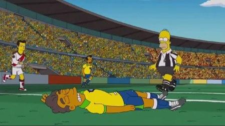 Los Simpsons en el Mundial de Brasil 2014 ¡No te lo pierdas!