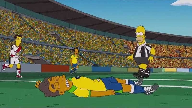 los simpsons en el mundial 2014 Los Simpsons en el Mundial de Brasil 2014 ¡No te lo pierdas!