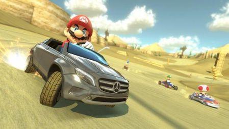 Mario Kart 8 recibe un DLC patrocinado de Mercedes-Benz