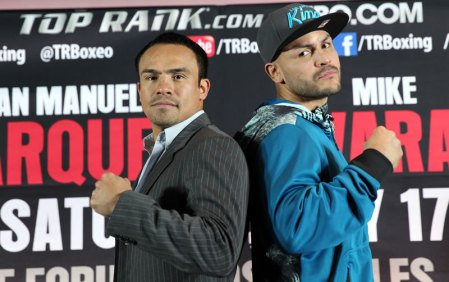 Marquez vs Alvarado en vivo por internet, Sábado 17 de Mayo